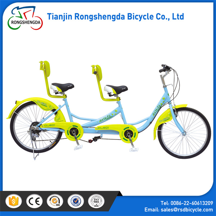 2017 hot selling Romatic Double Bike Two Seat With Tandem Bike Aluminum Frame/three seats Bicycle