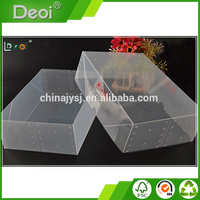 Factory Custom Made Practical Plastic Clear Storage Shoe Box