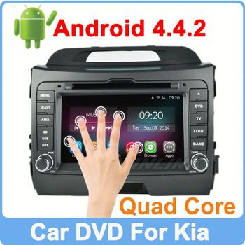 Ownice C200 Quad Core Cortex A9 Pure Android 4.4.2 For kia sportage navigation HD 1024*600