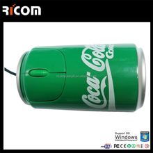 cola bottle shape mouse for computer mice --MO7007-----Shenzhen Ricom