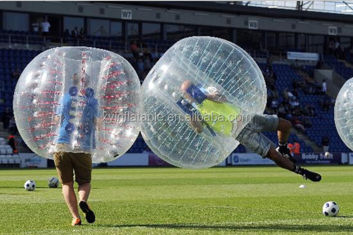 Hot selling inflatable ball suit, bubble ball soccer, bubble football for sale
