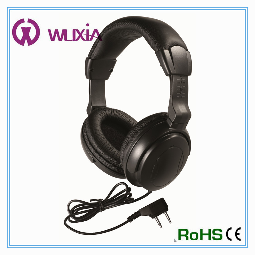 Noise Cancelling Function and Wired Communication hifi headphone airline headset
