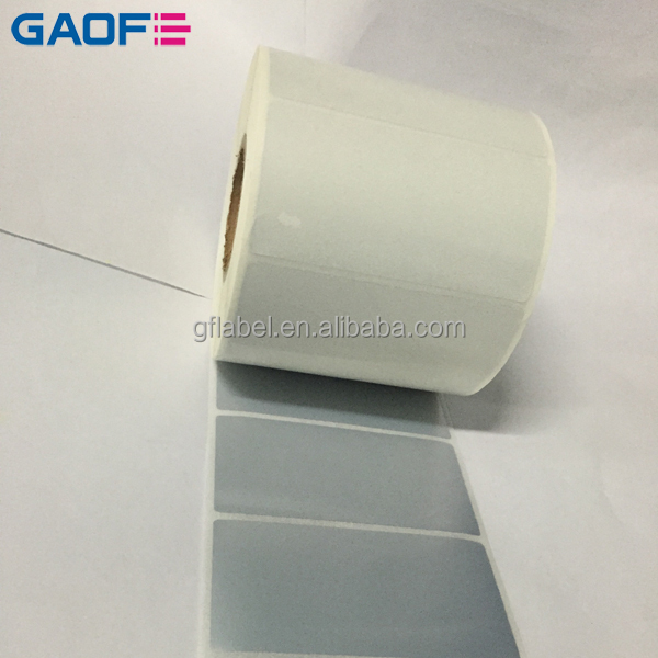 Customized Fasson Label Self-adhesive sticker paper PET Film Barcode Label Printing blank anti-copy paper