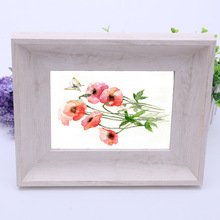 5x7 White Wood Picture Frames Free 3R 4R 5R Photo Frame