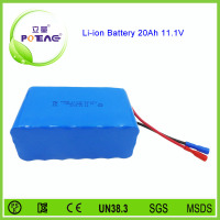 3s7p lithium ion 20000mah battery 12v 18650