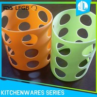 Food silicone grade cheap reusable coffee cup sleeves