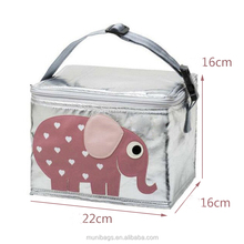 Kids Thermal Cooler Insulated Lunch Bag Girls Boys Lunchbox School
