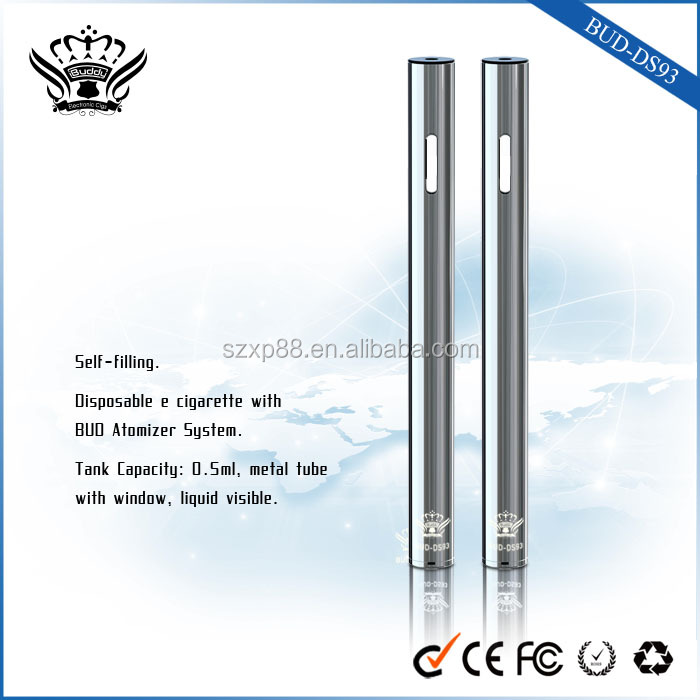 BUDDY Vape 100% Pure CO2 Extracted Disposable Pen Vaporizer Metal Tube 0.5ml for CO2 Oil