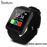Symrun New Arrival Bluetooth Digital Lady Smartwatch Support Speakers And Pedometer For Android Mobile Phone u8 samrt watch