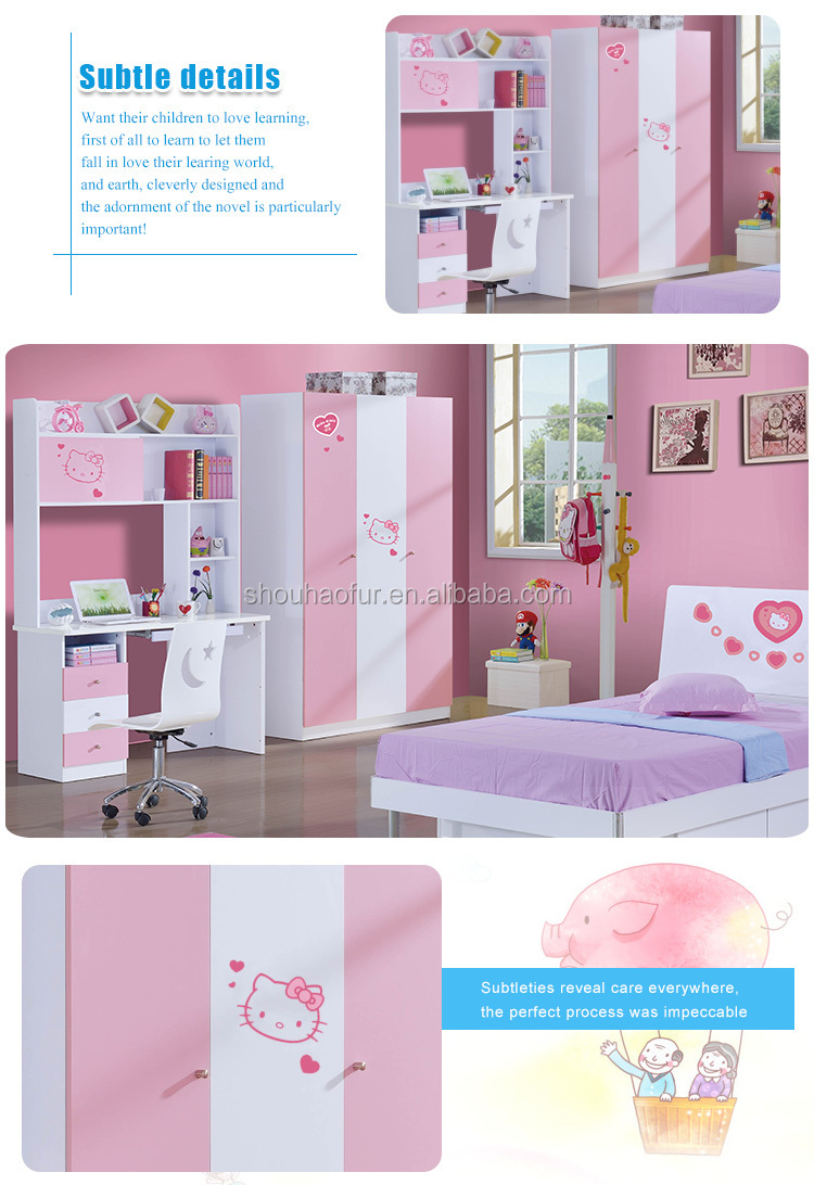 teens MDF bedroom furniture