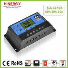 Hinergy low price 48v 20A 30A manual PWM solar <strong>charge</strong> <strong>controller</strong>