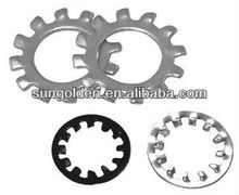 Circular gear lock washer