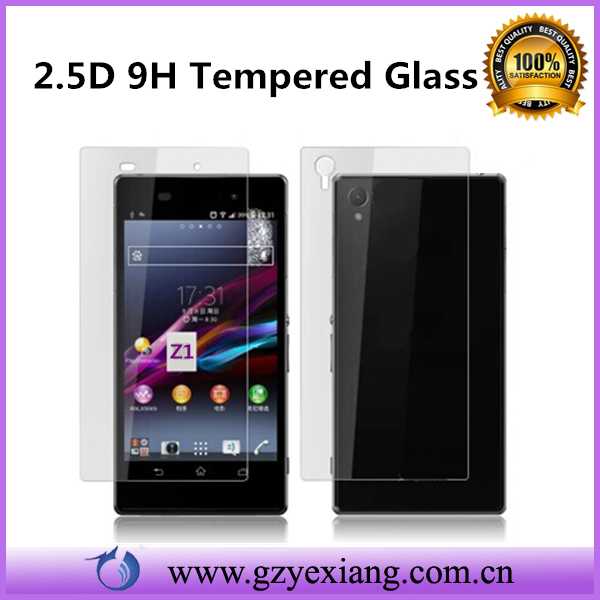2015 products 9h 2.5d wholesale tempered glass screen protector for sony xperia e dual