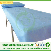 Hot-selling PP Nonwoven Fabric Hospital Bed linen/Beddings