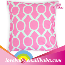 Linked round circle printing princess baby pillow cover fashion cover for pillows