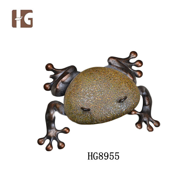 Best Quality Metal Frog Home Accessory