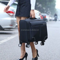 14-20inch Travel luggage Polo Urban Soft Perfect Trolley suitcase is the computer bag