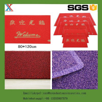branded plastic grass coil carpet door mat