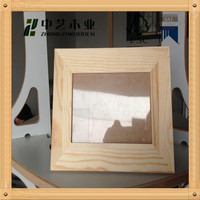 Wholesale Trade Assurance Unfinished customized art mind wooden photo frames