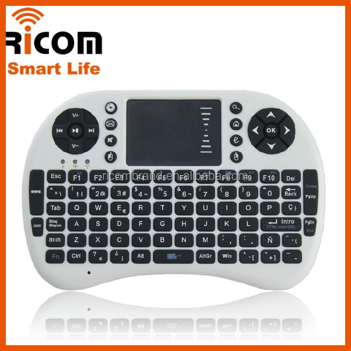 mini i8 2.4G Mini wireless keyboard air mouse remote for android tv box