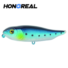 2017 new style 3D eyes pencil wobbler top water fishing lure