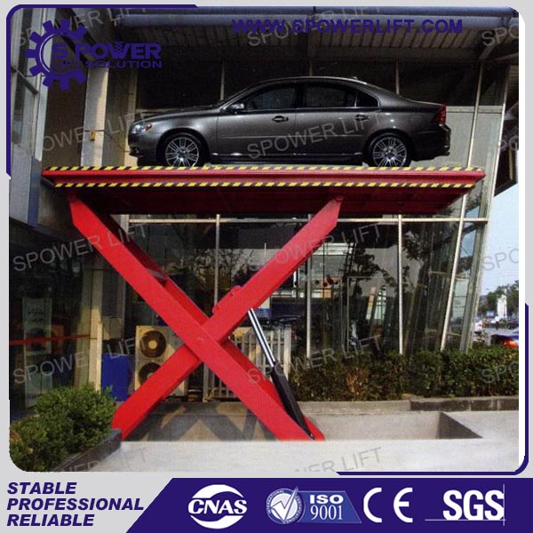 high strength steel pipe used car hydraulic foldable scissor lifts for sale