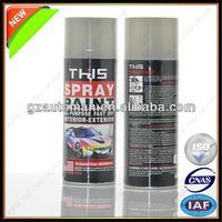 8 Minutes Fast Drying Red Heat Resistant Spray Paint