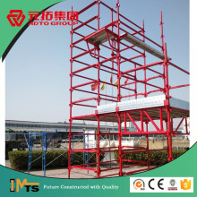Used Painted Metal Steel Kwikstage Scaffolding for Real Estate Construction