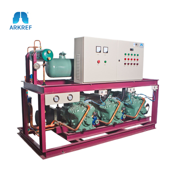Cold Room Industrial Parallel Compressor Refrigeration Unit