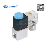 2/2 way solenoid valve 2way 2 position water air oil valve DC24V