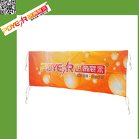 Custom Vertical Fabric Hanging Banners Hanging
