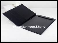 emboss your LOGO leather file cover, leather file cover decoration, leather file holder