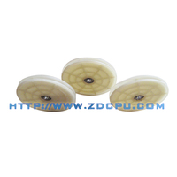 Custom non-flammable small size NBR rubber curtain cord pulley