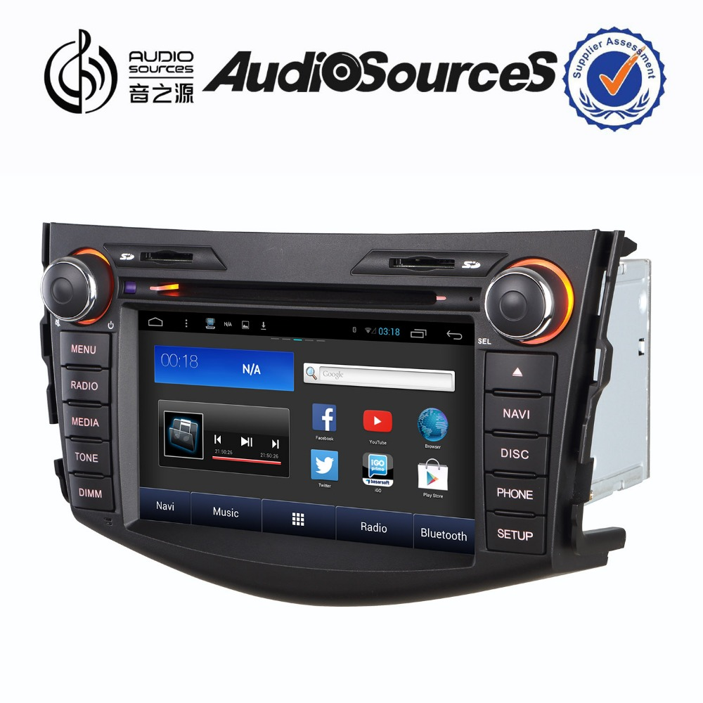 toyota rush 2 din car dvd player support canbus with TMC DVD CD Mp3 TMC VCD USB Canbus Gps Map android4.4.4 system