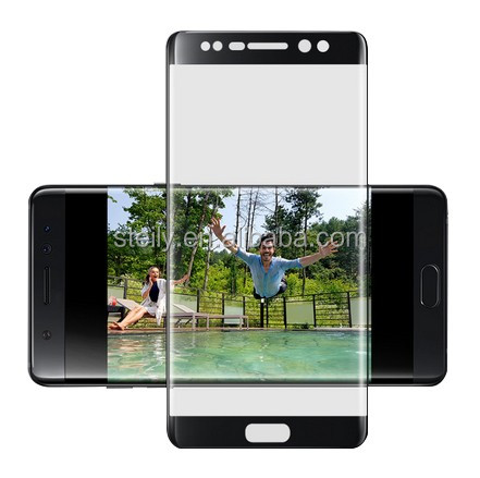 Factory Supply 3D Full Cover Tempered glass HD Tempered Glass protector 0.33mm Tempered Glass Flim for Samsung Note 7