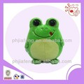 Big eyes plush frog toys ,green stuffed toys