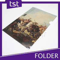 Waterproof PP File Folder Plastic File Folder