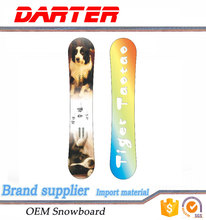 Variety of sizes silk-screen printing flat camber analog snowboard