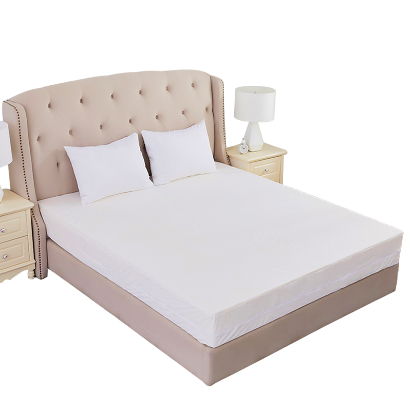 Chinese supplier wholesale waterproof zippered mattress encasement of terry fabric for home hotel hospitals bed pad protector - Jozy Mattress | Jozy.net