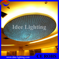 hotel LED plastic optic fiber big chandelier with remote control