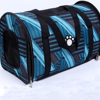 wholesale mixcolored bright color full printing pet carrier bag