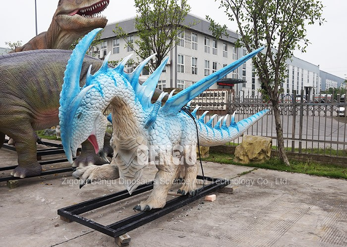 High Quality Handmade Colourful Dragon 3D Model