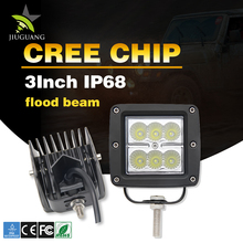 "Motorcycle Super Bright Best Selling Jeep Offroad Truck 3"" 18W Led Work Light"