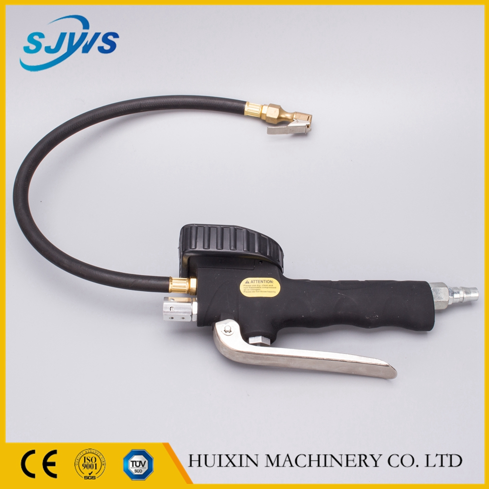 new style digital tire inflation gun with pressure gauge