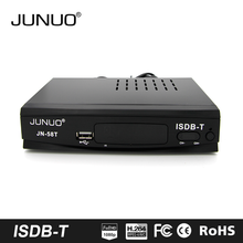 JUNUO stb factory OEM HD 1080p brazil/peru digital tv decoder set top box isdb-t