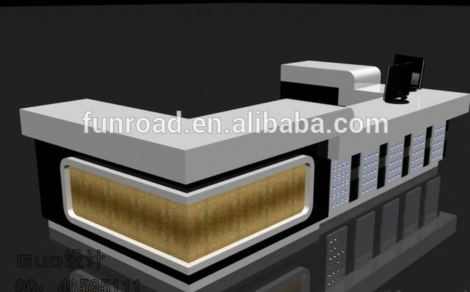 Phone Retail Shop Cash Counter Design for hot sale
