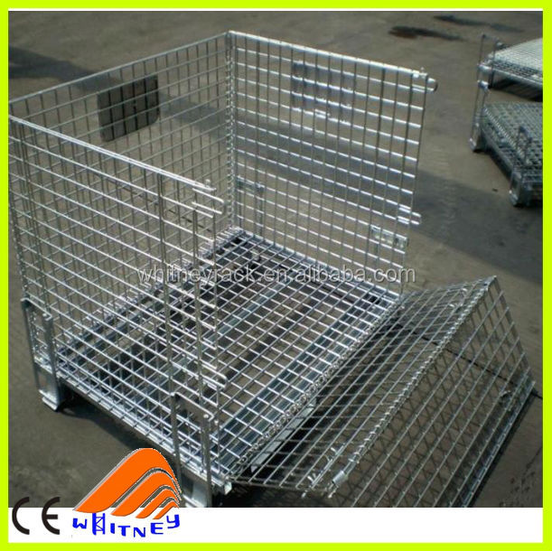 pallet liquid container, wheeled metal wire basket, wire steel container