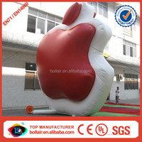 Factory price 5m cheap giant inflatable apple