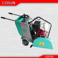 Cosin Honda engine cutting depth 170mm laser blade asphalt cutter