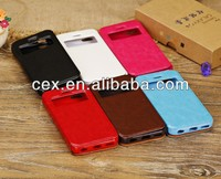New Slim Fashion Front View PU Leather Flip Case Cover Skin For iPhone 5c